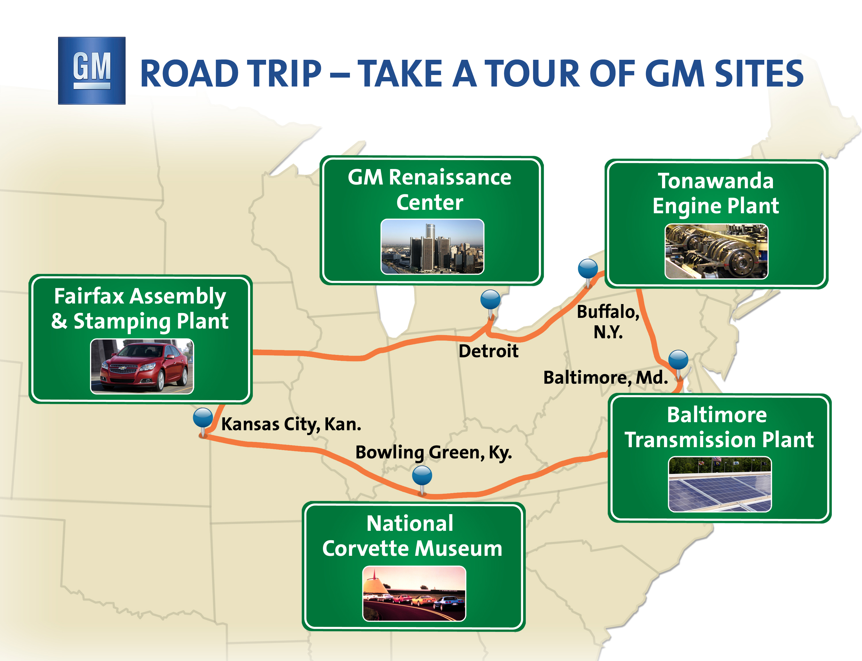 Road Trip! Add a GM Plant Tour to Summer Sightseeing