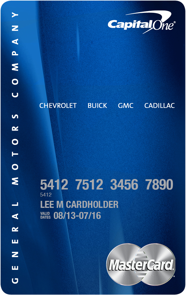 Capital One and General Motors Introduce New Automotive Rewards Card