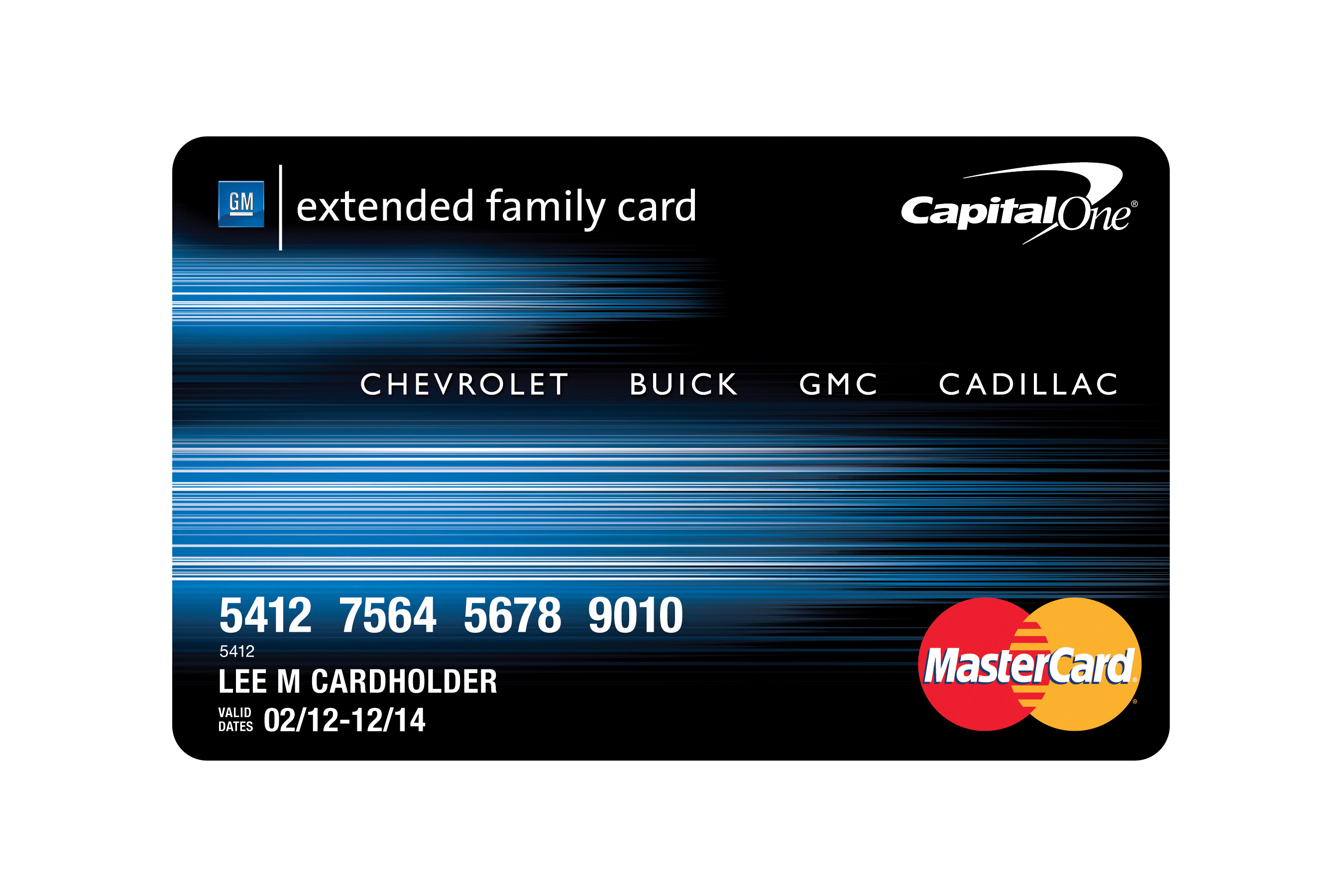 Gm Extended Family Card >> Capital One And General Motors Introduce New Automotive Rewards Card
