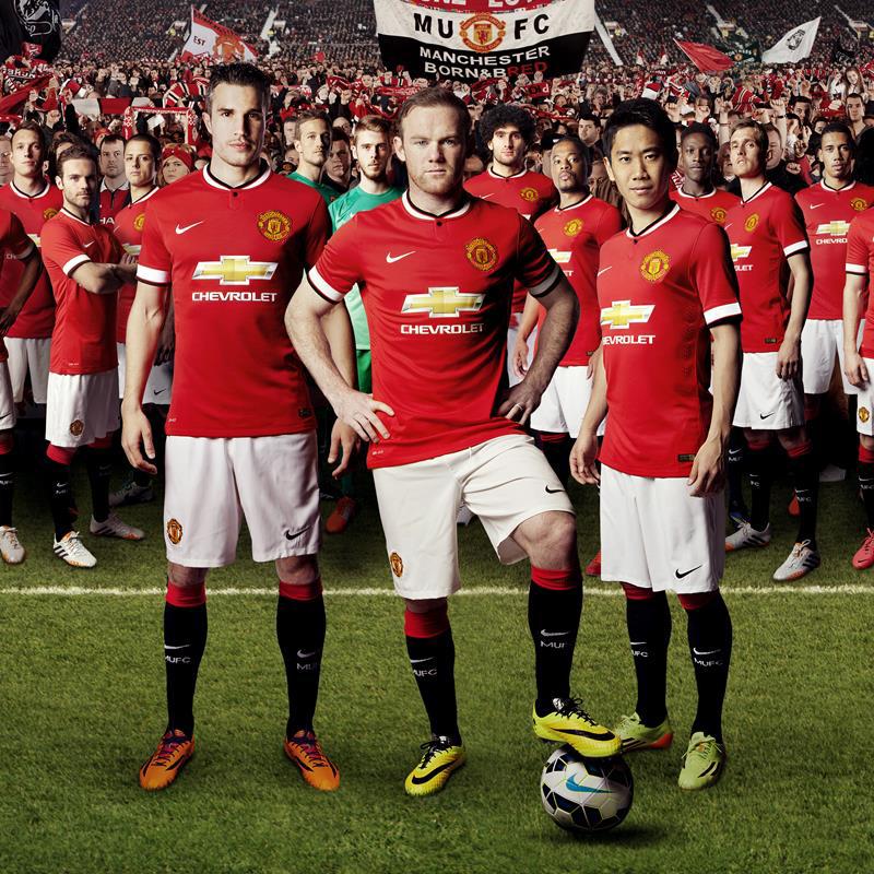 48777d74082 Chevrolet Celebrates Debut on New Manchester United Shirt