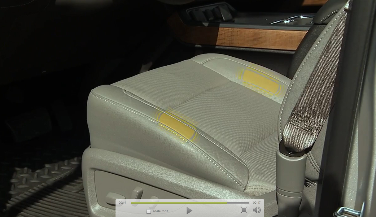 Chevrolet's Safety Alert Seat Goes to Work
