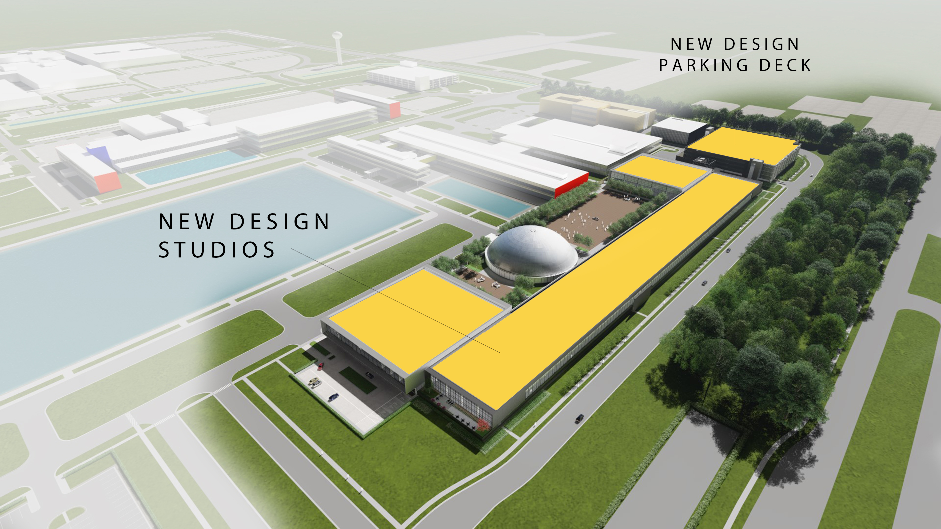 Gm Design Expansion To Double Studio Space And Complete Global Technical Center Transformation