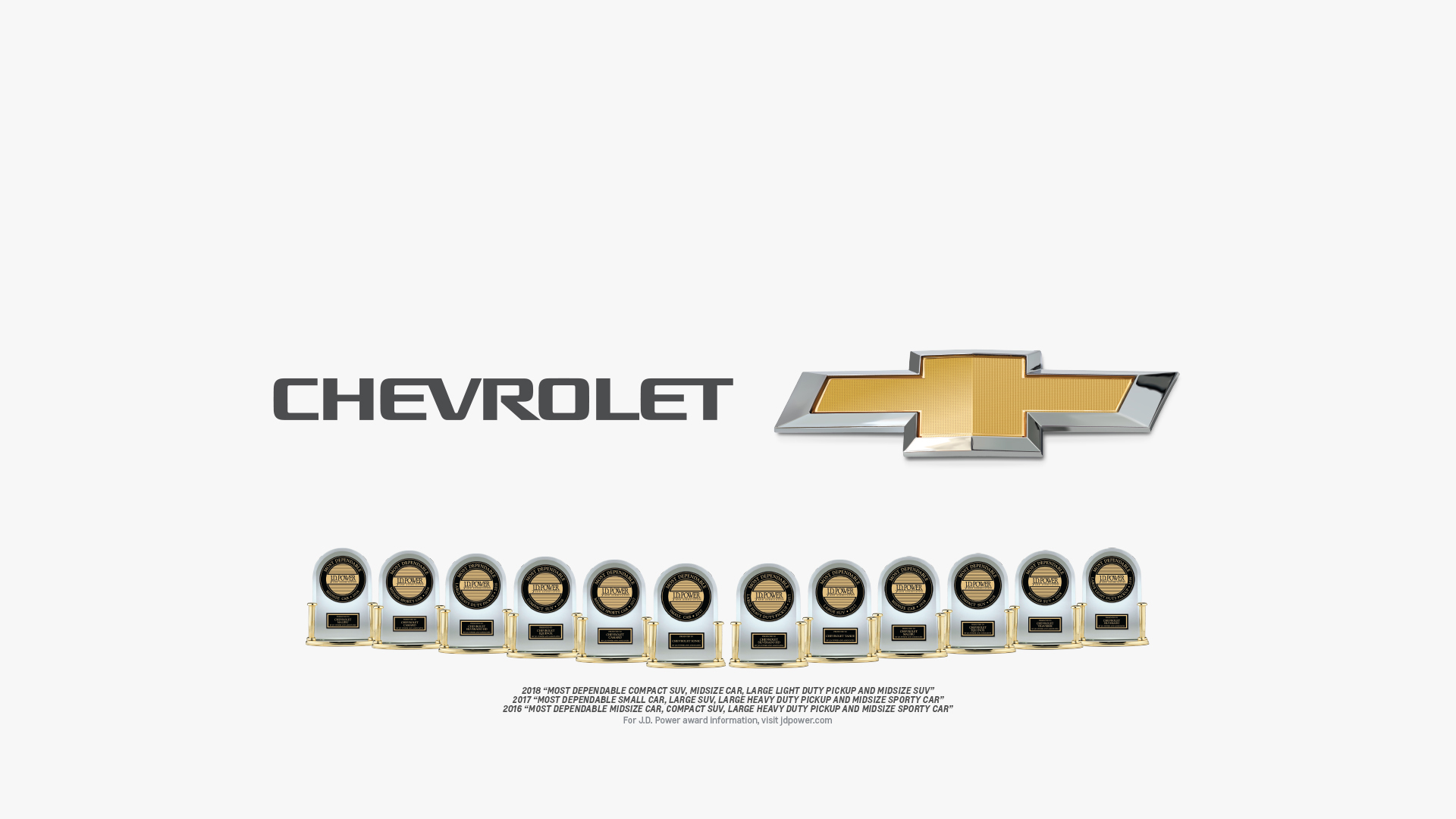 Chevrolet Is J D  Power's Most Awarded Brand