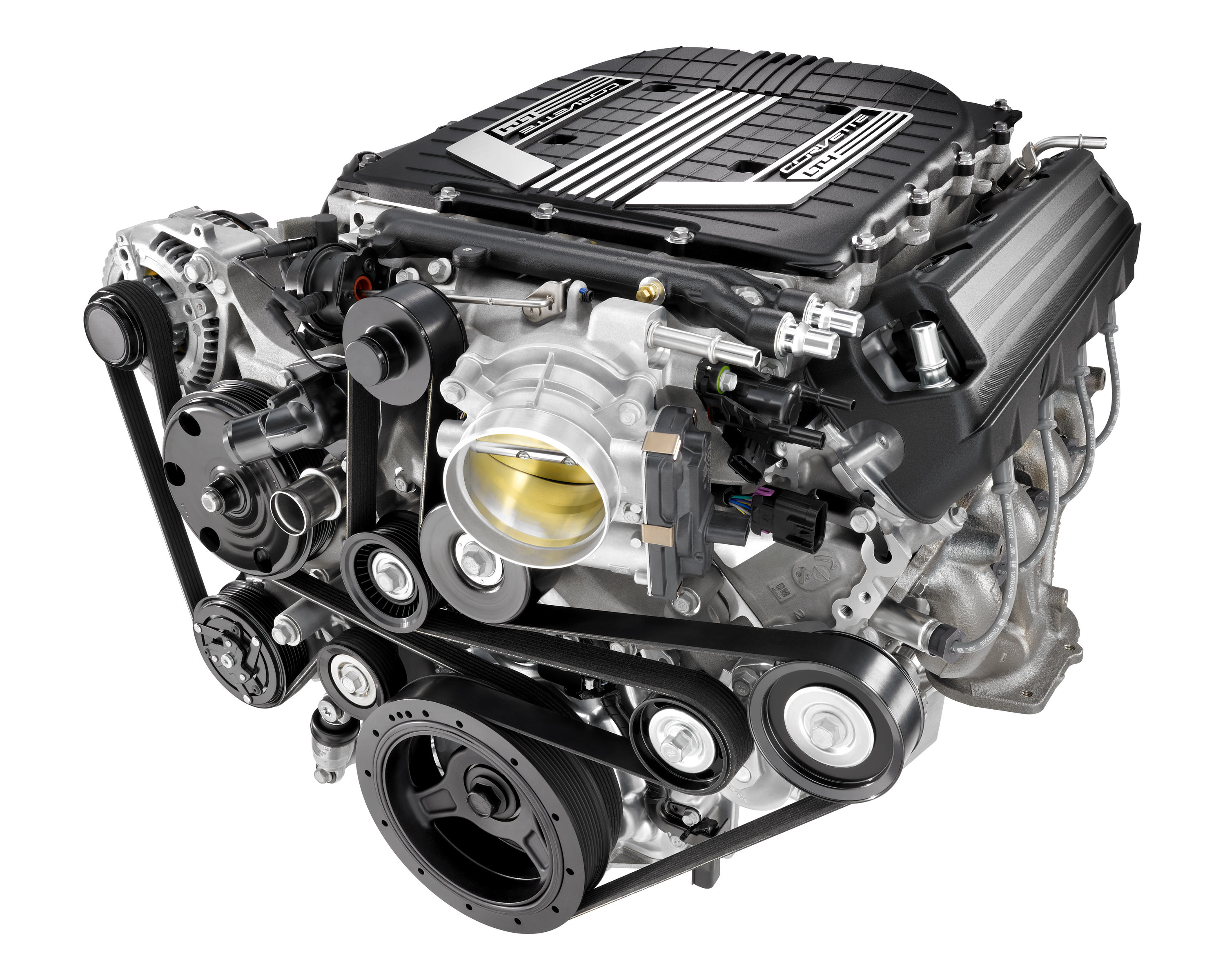 Compact Powerhouse: Inside Corvette Z06's LT4 Engine