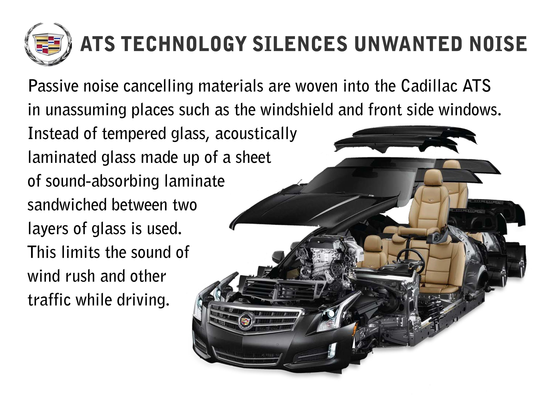 Listening Helps Cadillac ATS Shape Interior Acoustics
