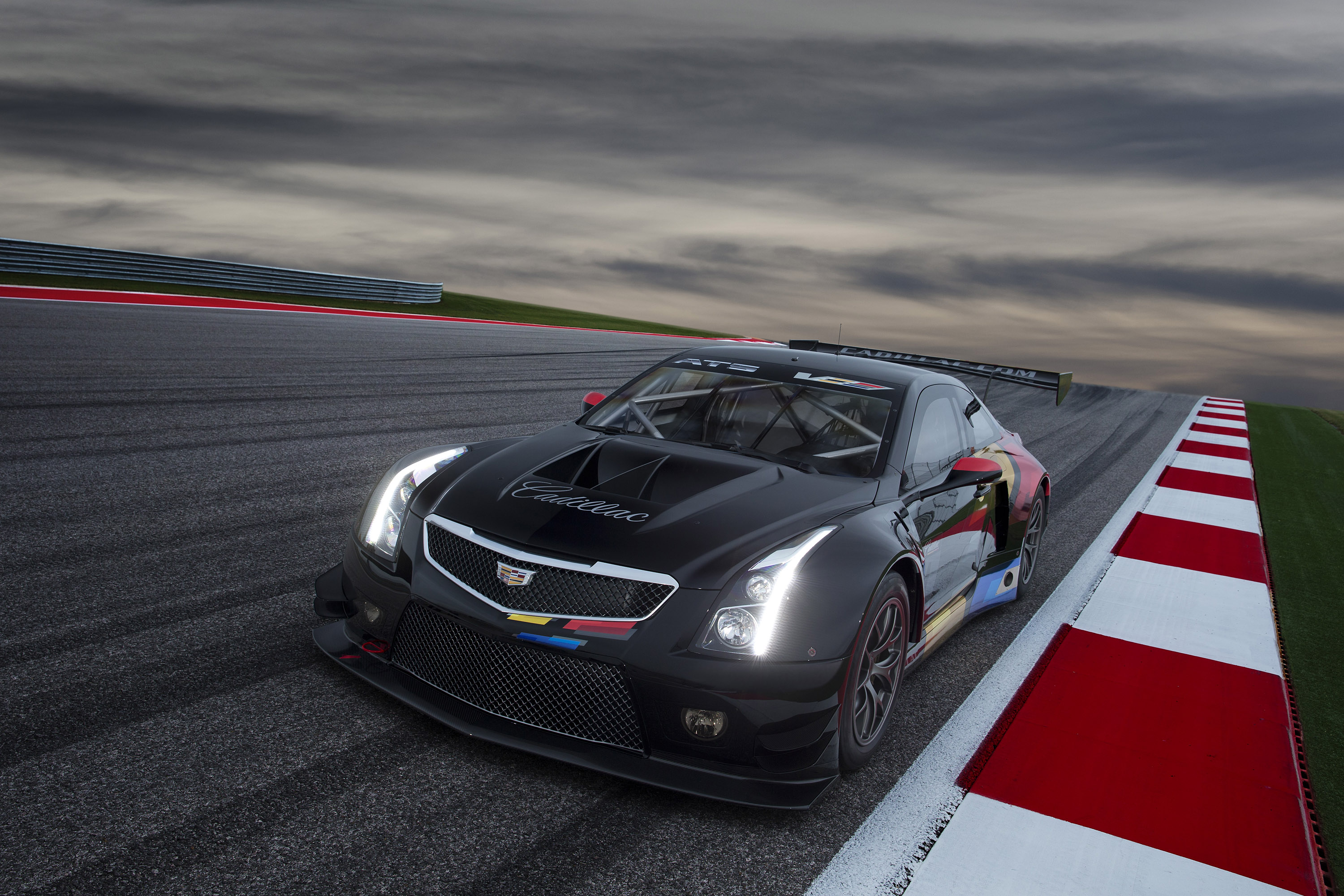 Cadillac Introduces All New Ats V R Race Car