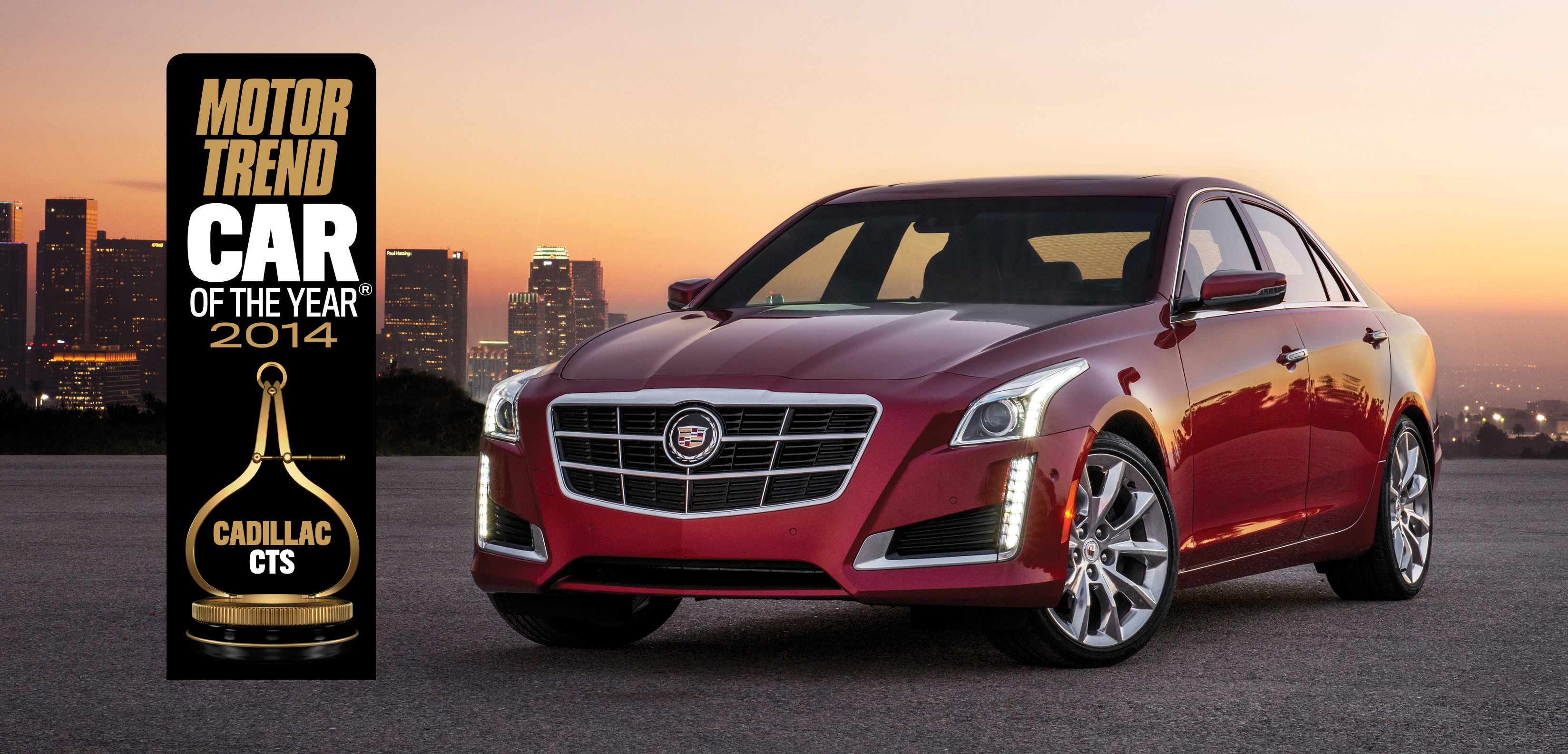 Cadillac CTS Scores Second Motor Trend Car of the Year Award