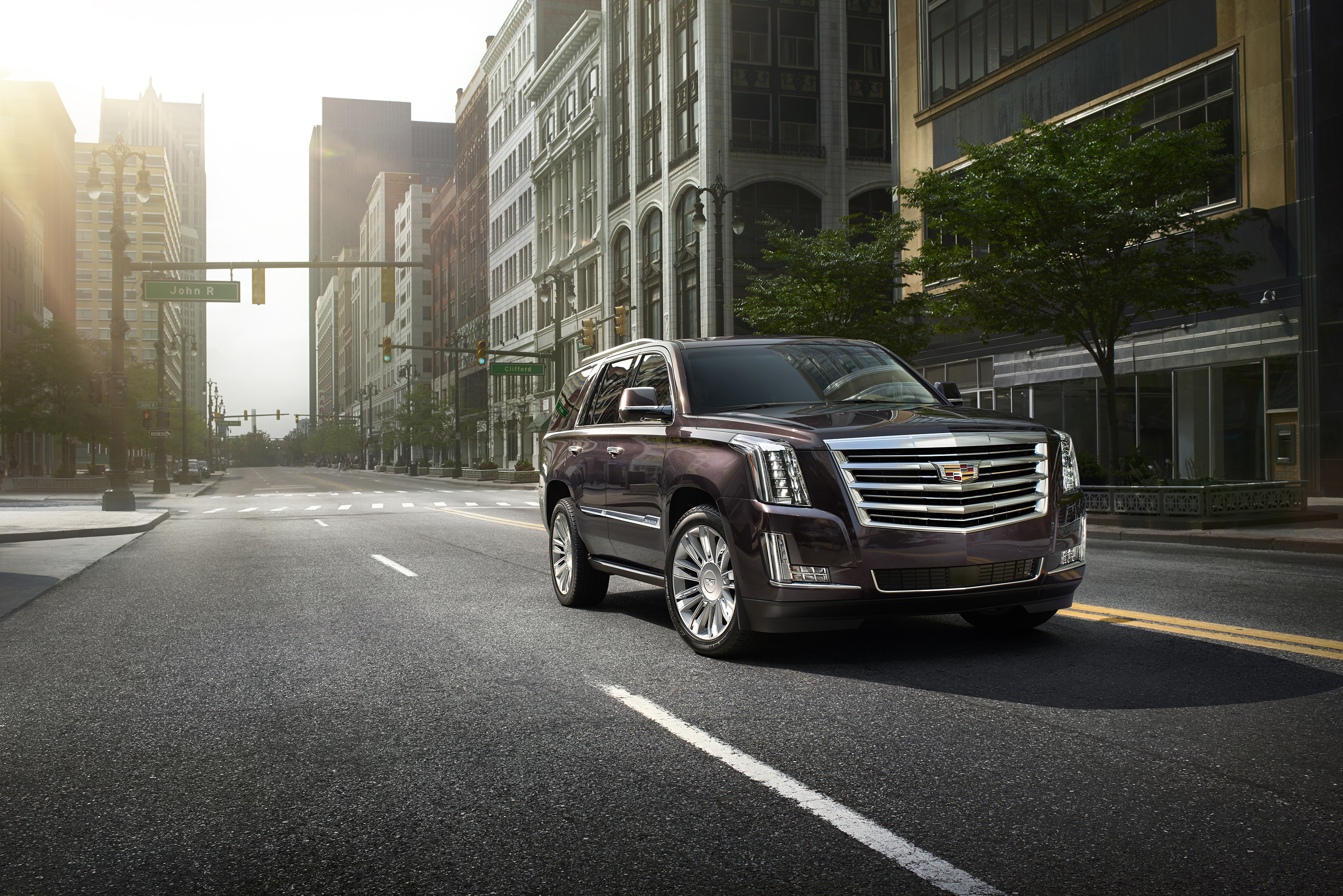 New platinum collection added features elevate escalade craftsmanship and technology