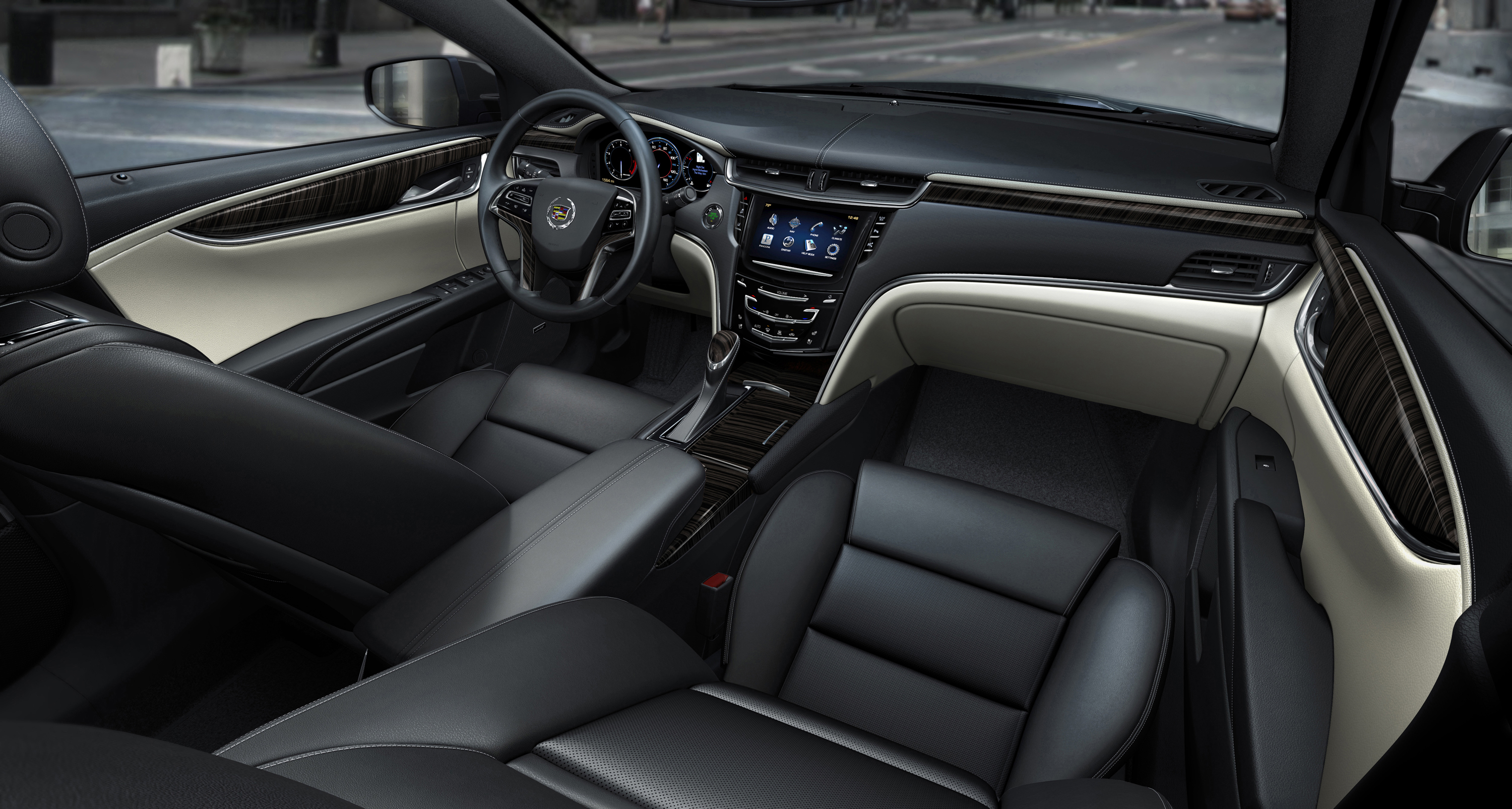 Cadillac Xts S Interior Design Goes With The Grain