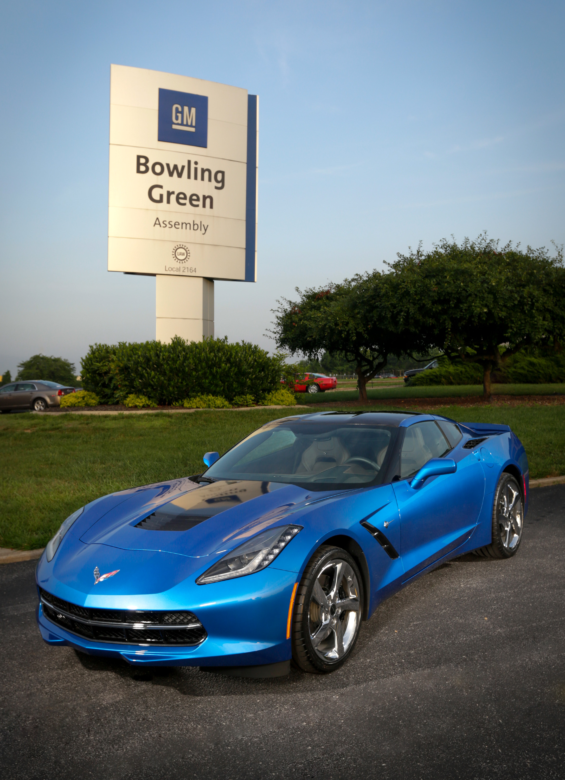 Bowling green assembly plant chevrolet corvette assembly about the plant