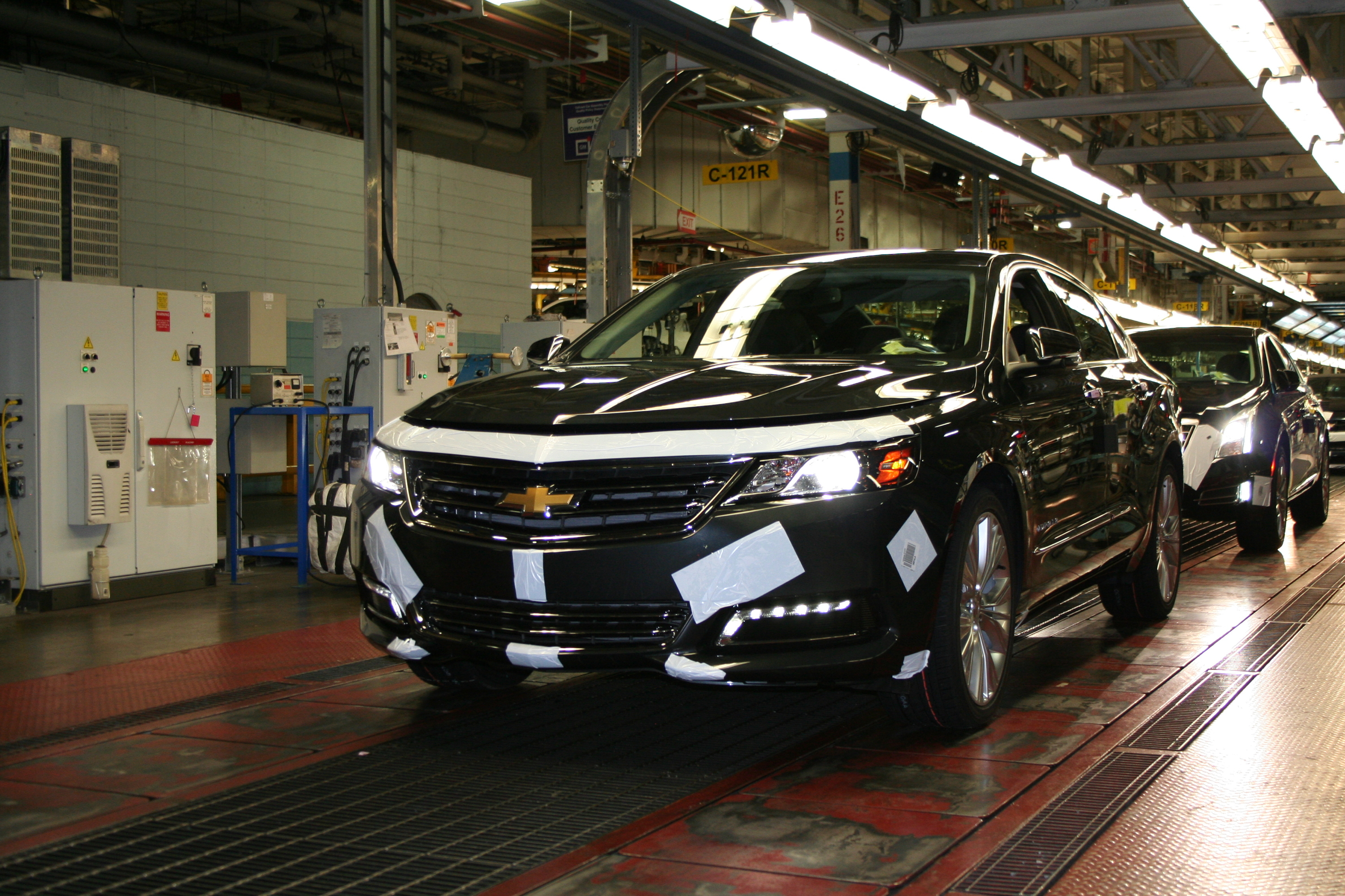 Production begins for 2014 chevrolet impala publicscrutiny Image collections