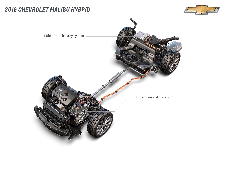 chevrolet malibu hybrid derives technology from volt Malibu Wagon corporate newsroom united states
