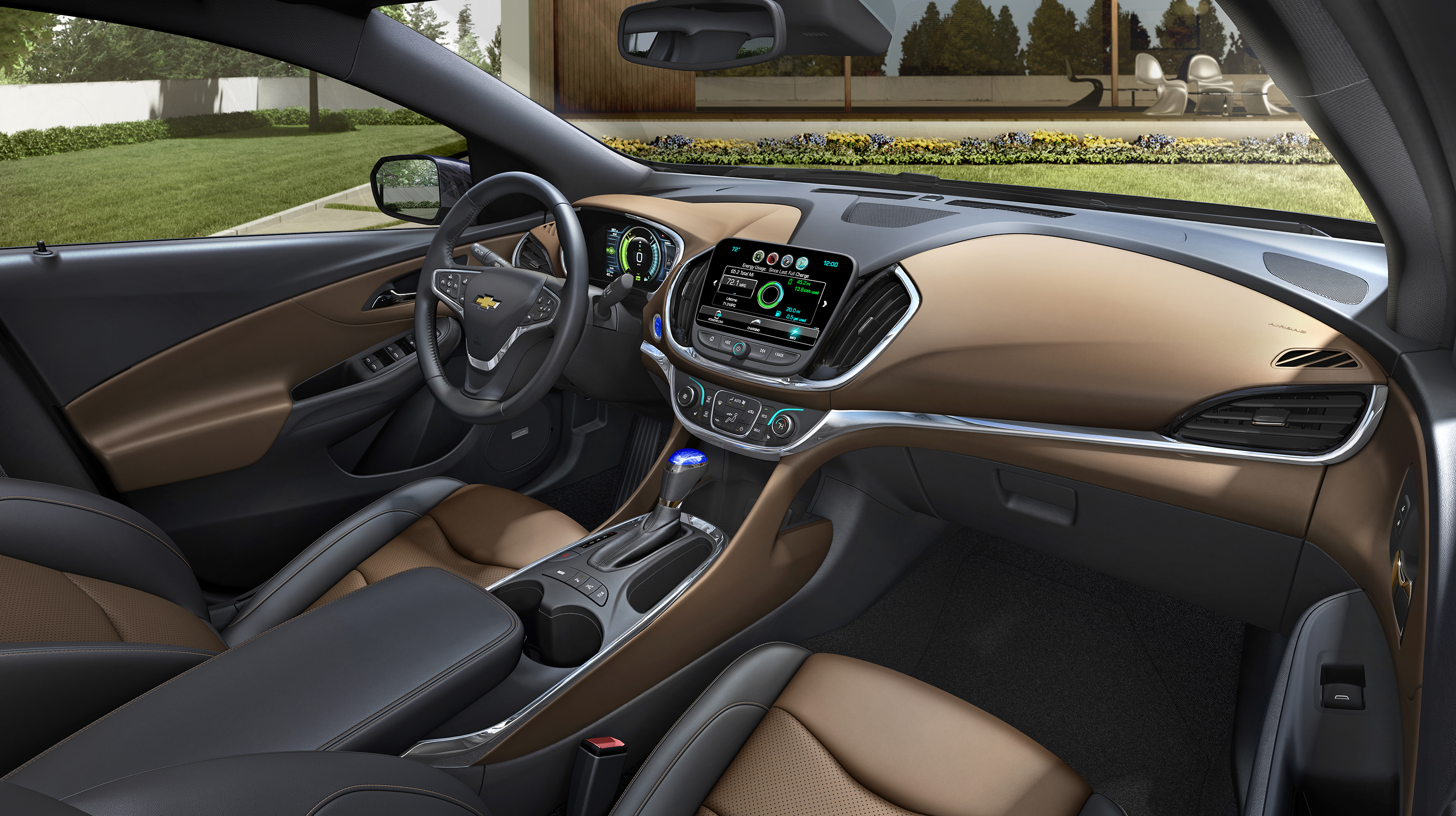Strange 2016 Chevrolet Volt Interior Makes Ev Driving Personal Inzonedesignstudio Interior Chair Design Inzonedesignstudiocom