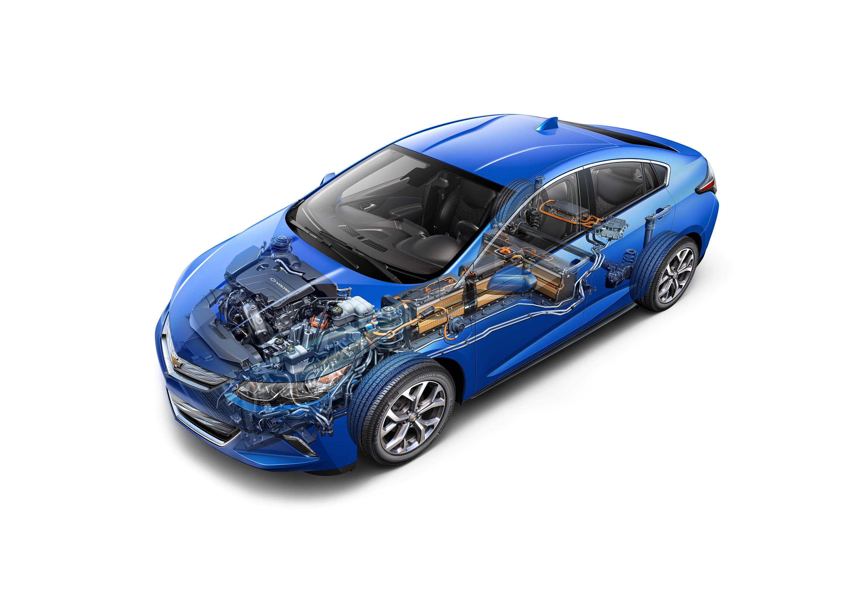 2016 Chevrolet Volt Delivers More Ev Range Extending Adding A 2nd Hv Battery