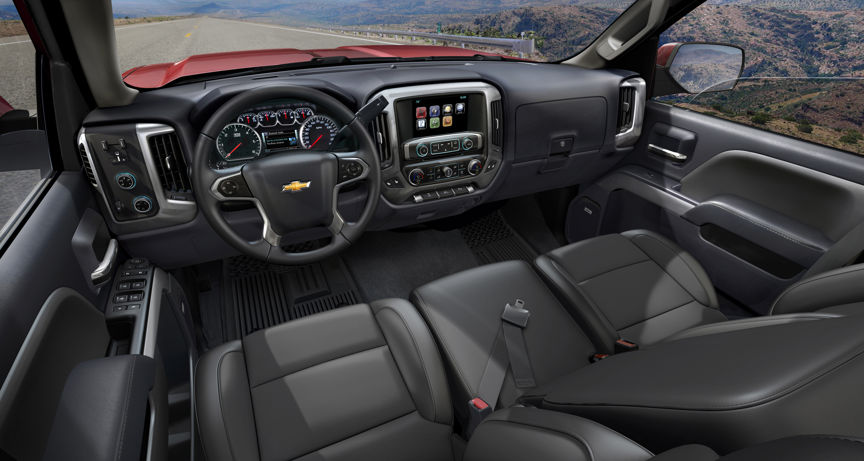 Silverado Cabin Is Capable Comfortable And Connected