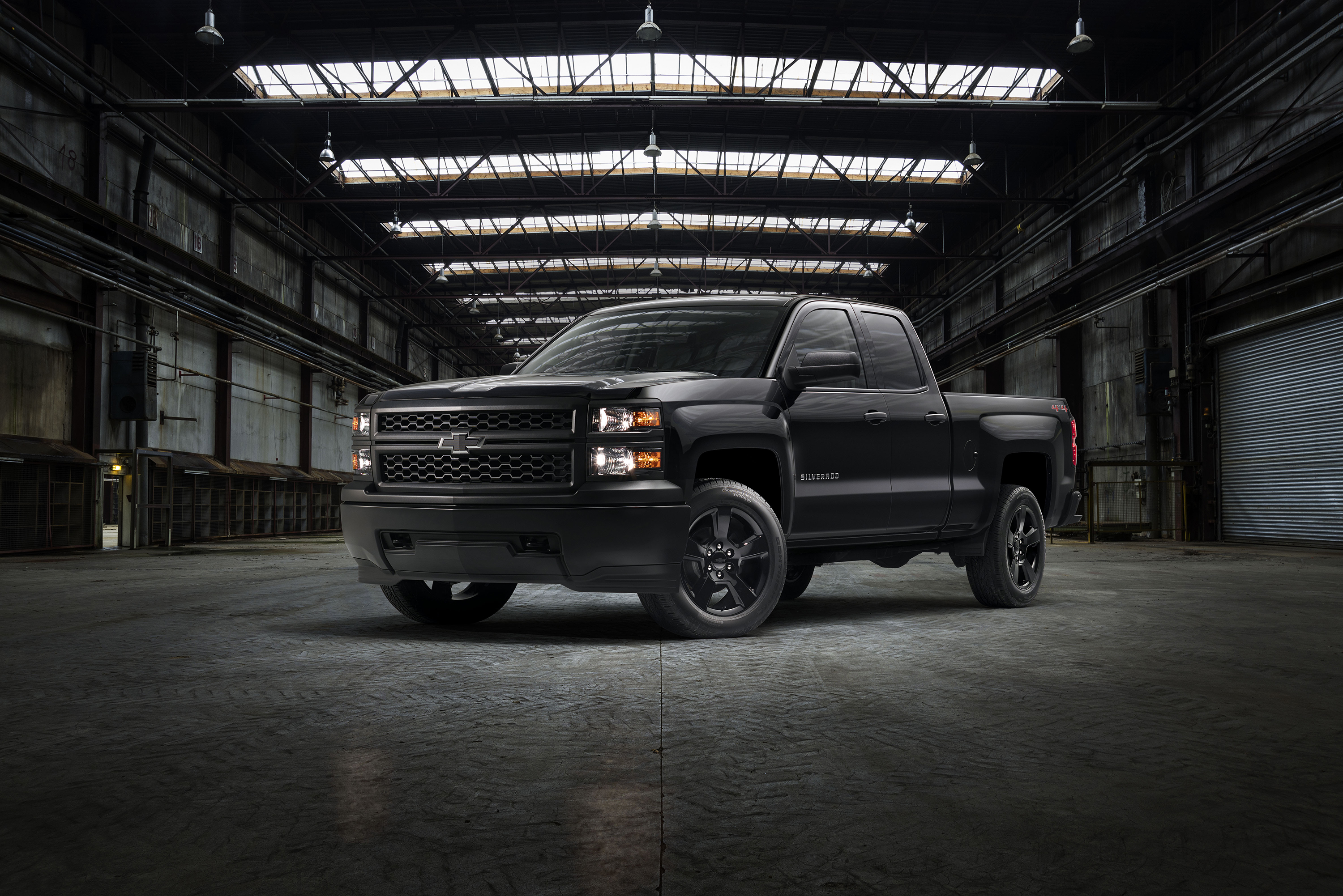Chevrolet Silverado Work Trucks Get Blacked Out