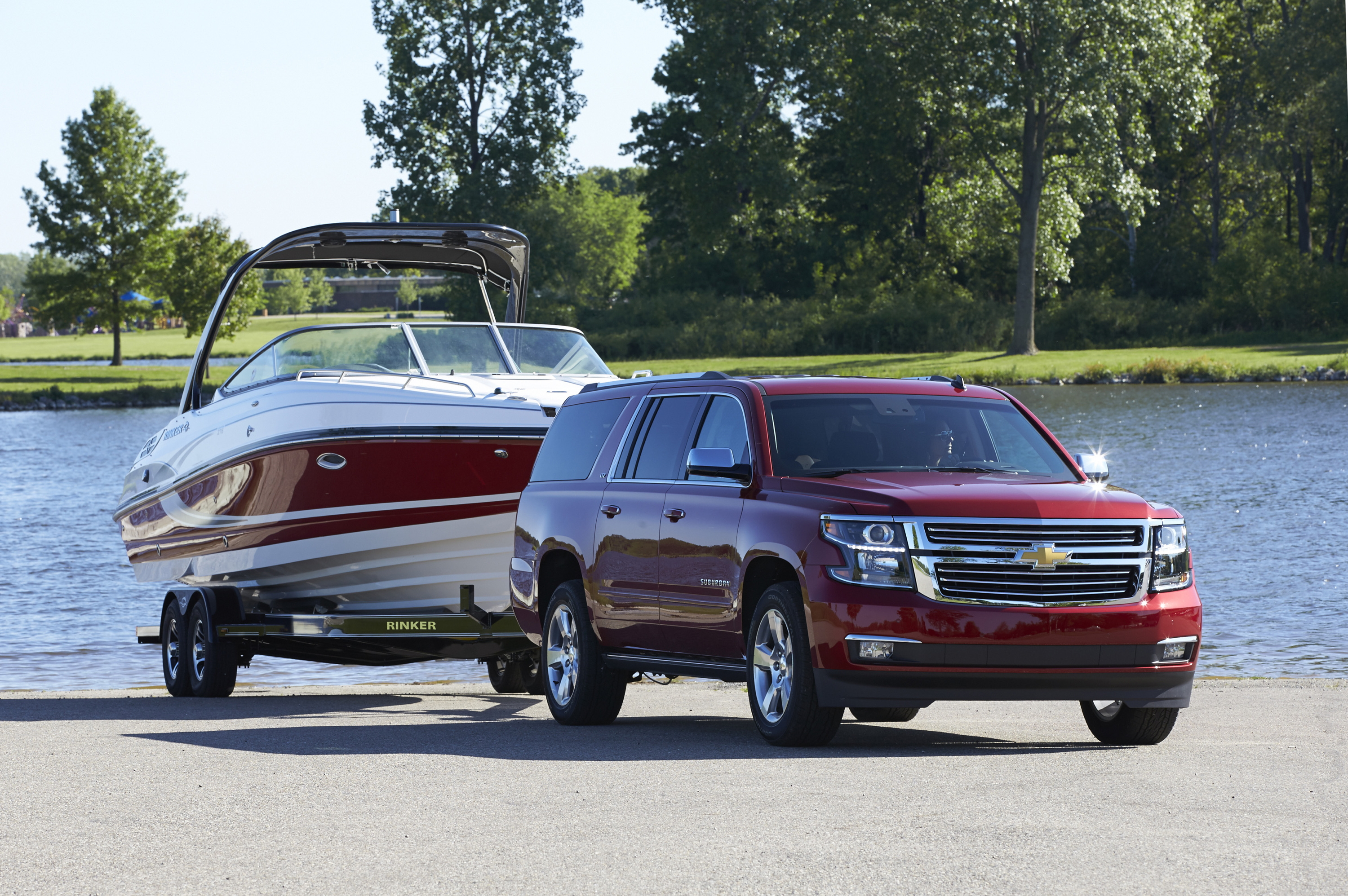 suburban offers every comfort for vacation cruising suburban offers every comfort for