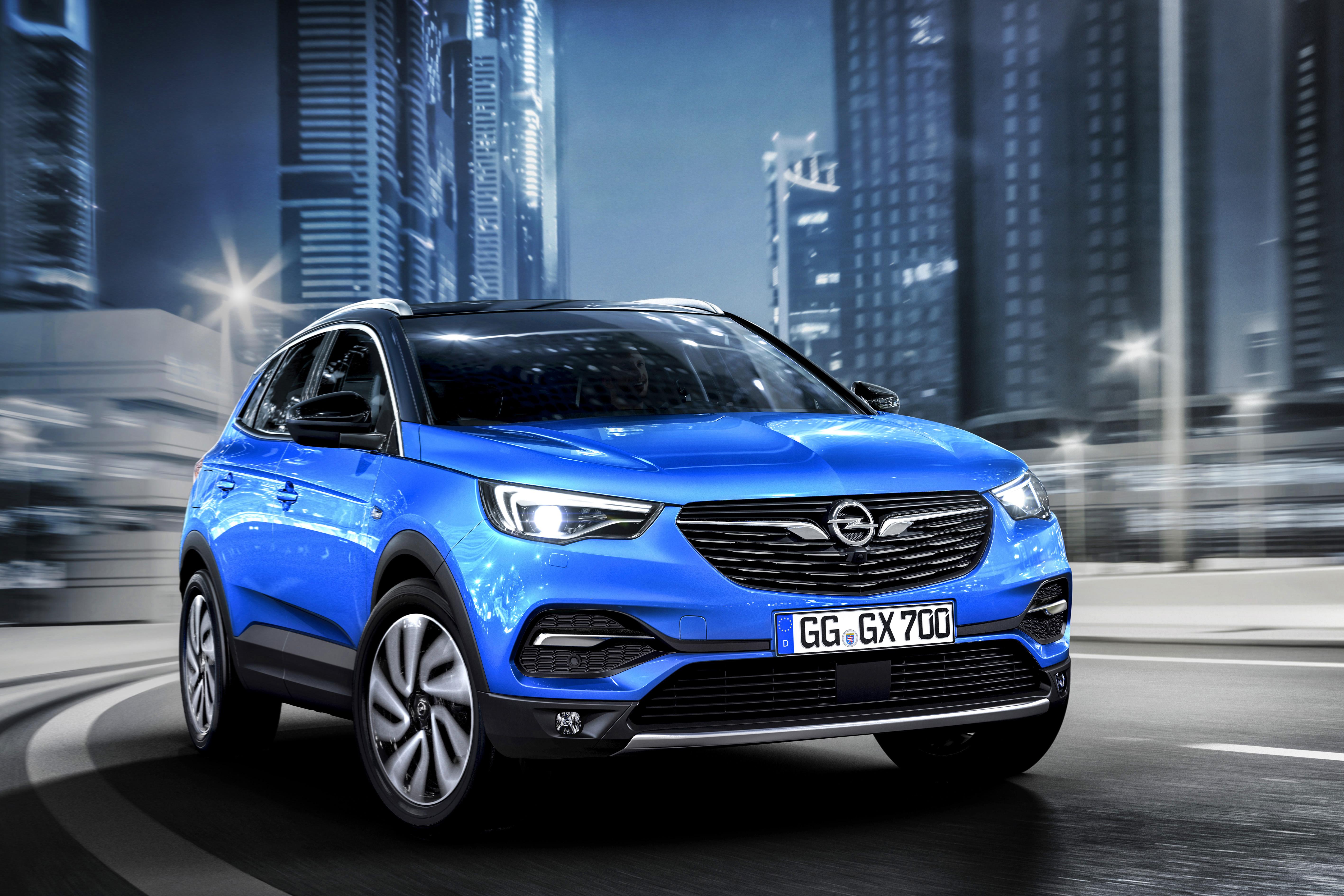 Opel >> The New Suv Athletic And Adventurous Opel Grandland X