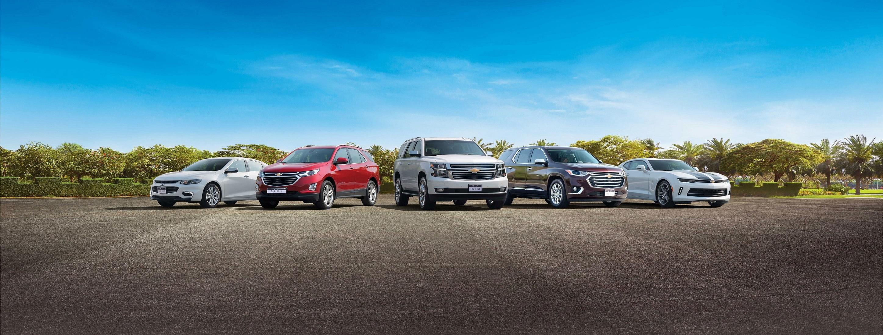 Chevrolet Confirms Best Ever Lineup Showcase At 2017 Dubai