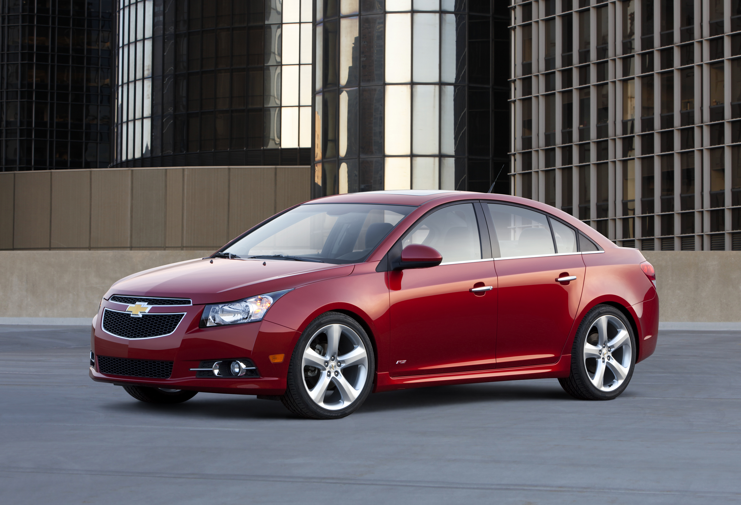 Chevrolet Cruze Repair Manual: Radiator Grille Reinforcement Support Replacement